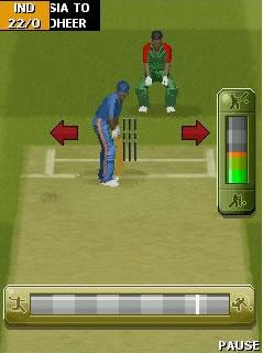 Screens Zimmer 1 angezeig: cricket games 2010
