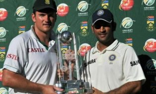 India - South Africa Test series ratings