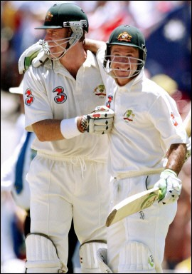 The importance of Ponting and Hayden
