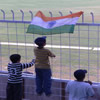 Young Indian supporters