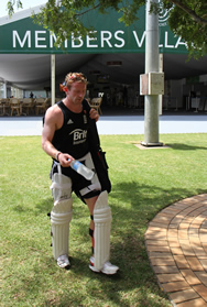 Paul Collingwood leaving training