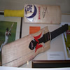 Thorpe and Flintoff Bats