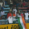 Sourav Ganguly supporter at Wankhede Stadium