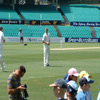 Matthew Hoggard preparing to bowl