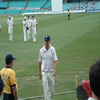Kevin Pietersen leaves the field