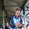 Phil Jaques signing autographs