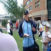 Nathan Bracken outside the Sydney Cricket Ground