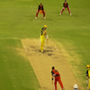 Shaun Marsh defends to cover
