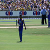 Sanath Jayasuriya dismissed for a duck