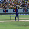 Mahela Jayawardene punches one off the back foot