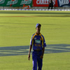 Nuwan Kulasekara in the field
