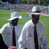 Steve Bucknor and Billy Doctrove