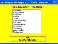 Cricket Player Manager 4