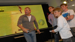 Ashes Cricket 2009 - Shane Warne at HMV in Oxford Street, England