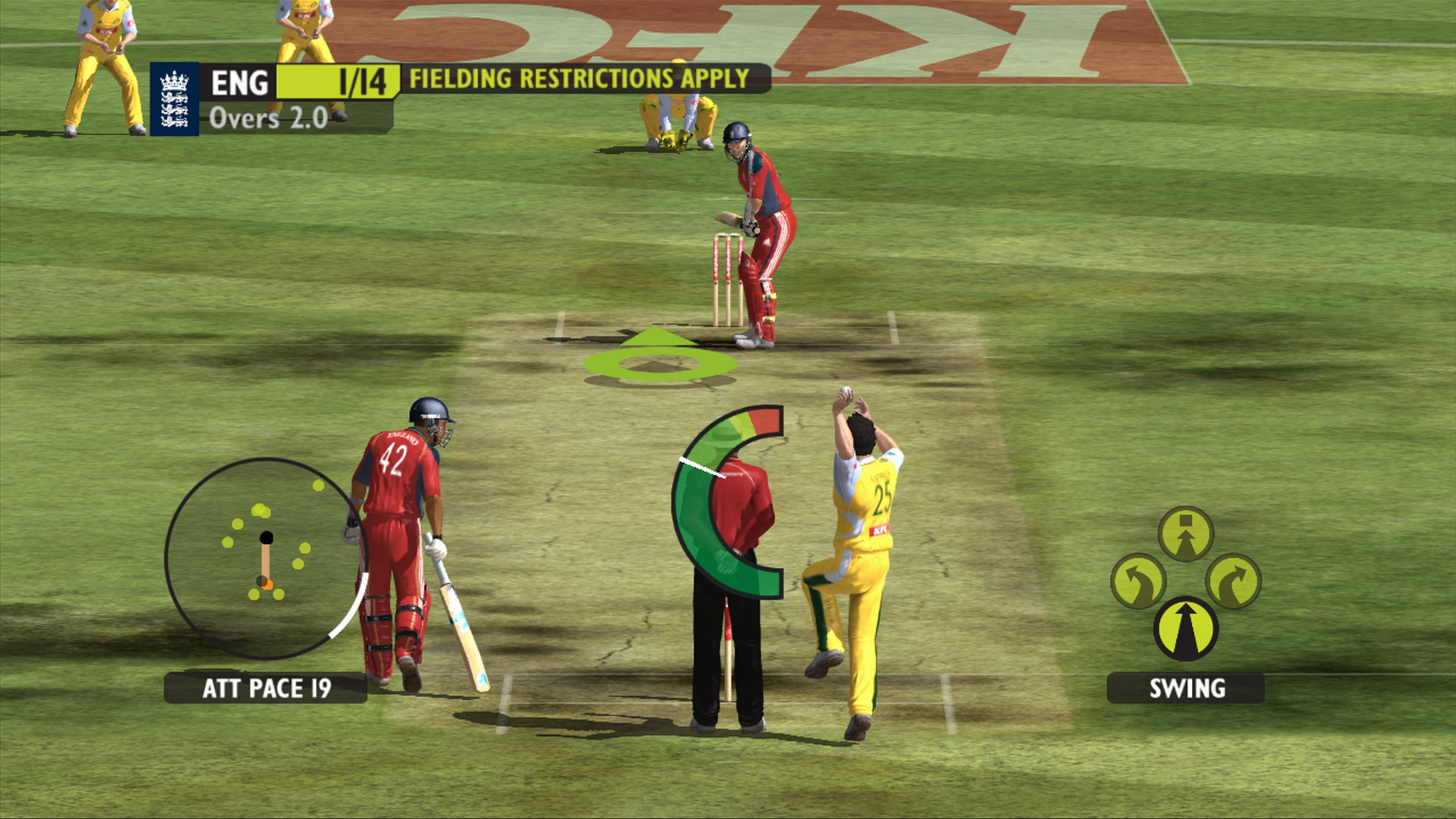 to play free online cricket games 2009