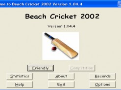 Beach Cricket 2002
