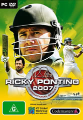 Brian Lara / Ricky Ponting International Cricket 2007 - Box Shots