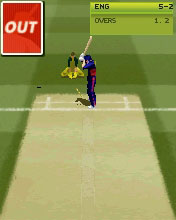 Brian Lara / Ricky Ponting International Cricket 2005 - Mobile Version