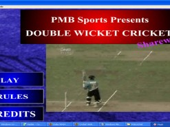 Double Wicket Cricket