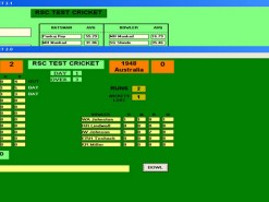 RSC Test Cricket