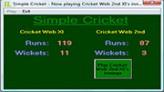 Simple Cricket