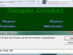 Simple Cricket