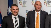 Martin Crowe and Brendon McCullum