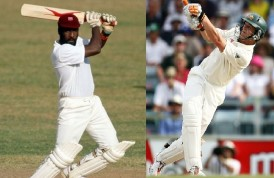 Two swashbuckling batsmen, Viv Richards and Adam Gilchrist