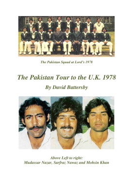 Pakistan in England 1978