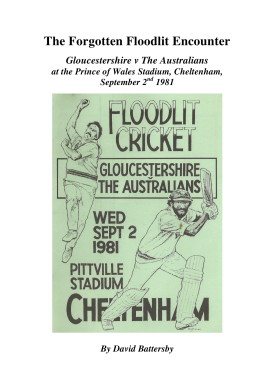 The Forgotten Floodlit Encounter