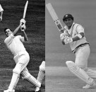 Two of the most impactful batsmen ever, Peter May and Sunil Gavaskar