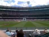Ground level view of the Oz v SA Boxing Day Test, Dec 27 2008