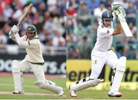 Justin Langer and Jonny Bairstow