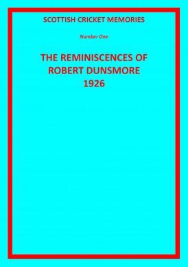 BobDunsmore1926_Cover